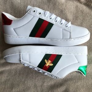 💓 New Guccii Ace Embroidered Sneakers